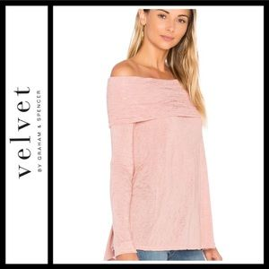Velvet by Graham & Spencer Meela Off Shoulder Top